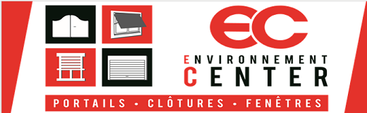 Logo Environnement Center Portails - Clôtures - Fenêtres